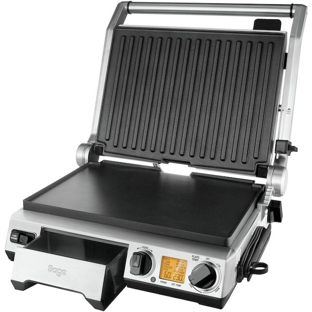 Sage Kontaktgrill the Smart Grill Pro, SGR840, 2400 Watt