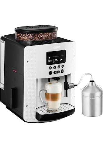 Krups Kaffeevollautomat »EA8161«, inkl. Edelstahl-Milchbehälter, 3 Temperaturstufen... kaufen