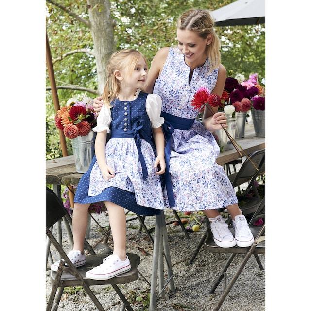 Country Line Dirndl 2tlg. Kinder im Blumenprint all-over