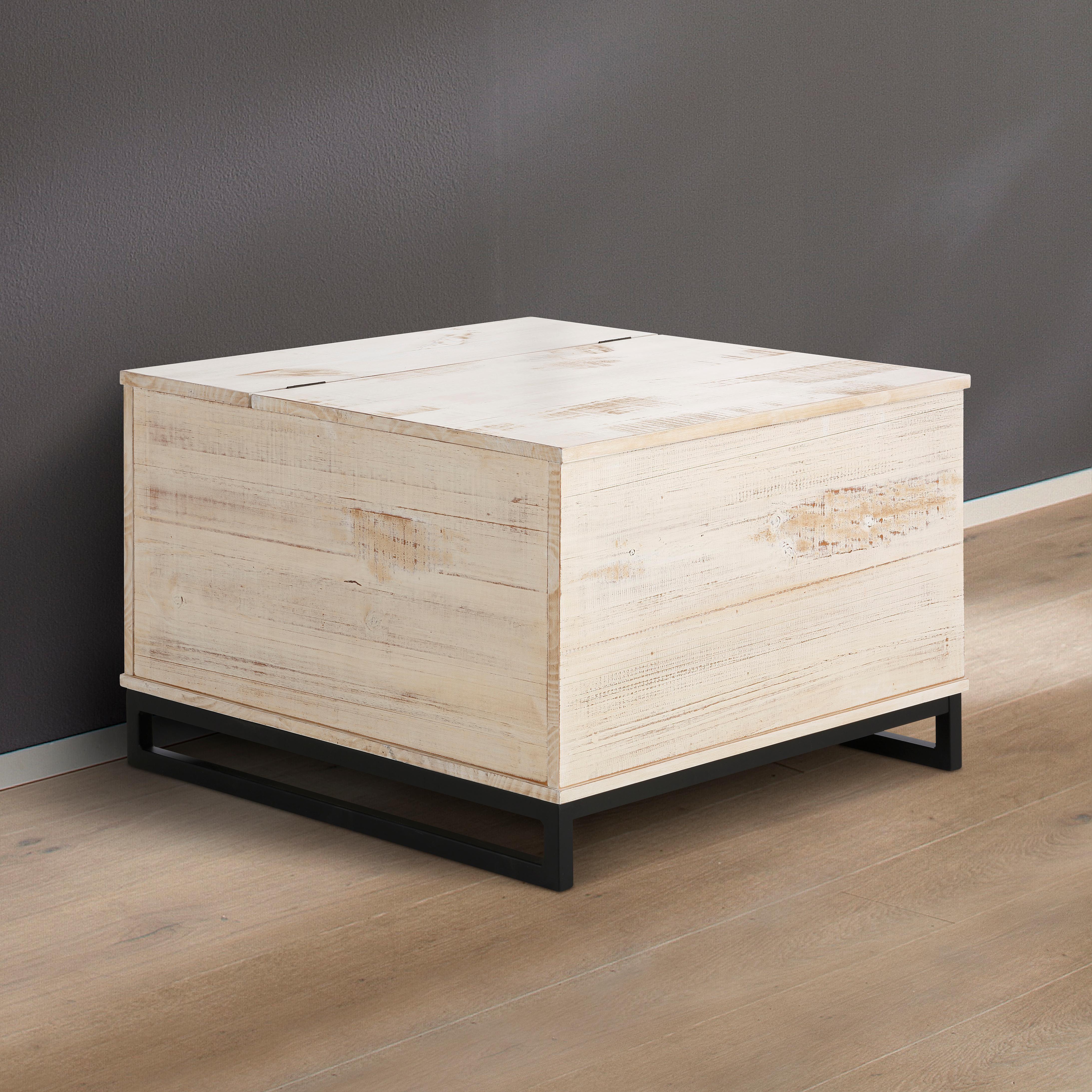 Home affaire Truhentisch »Santo«, Breite 75 cm.   Wohnzimmer > Tische > Truhentische   Braun   HOME AFFAIRE
