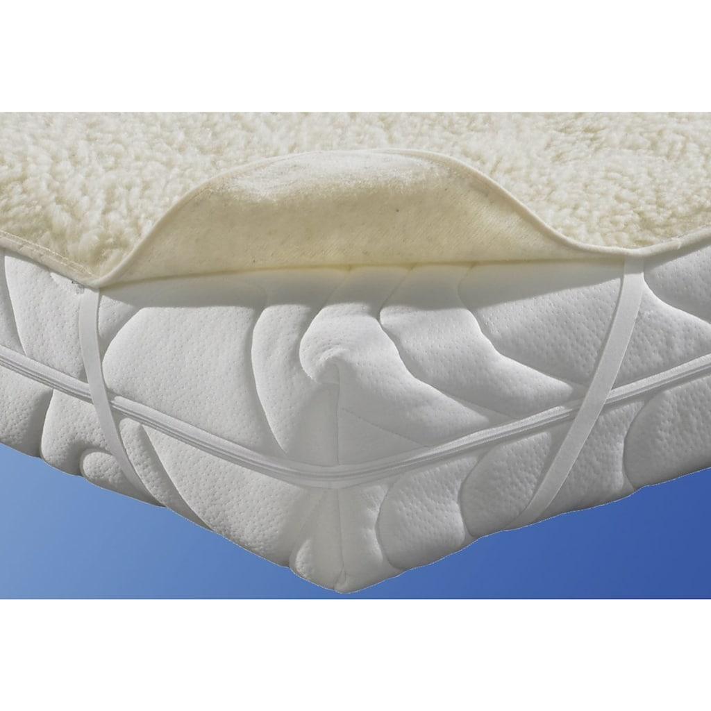 f.a.n. Schlafkomfort Matratzenauflage »Lammflor«, hohe klimaregulierende Wirkung