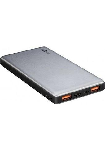 Goobay Powerbank 10.0 »10000mAh mit Quickcharge QC 3.0 externer Akku« kaufen