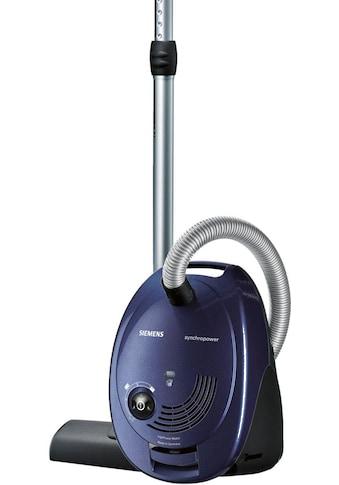 SIEMENS Bodenstaubsauger VS06A111, 600 Watt, mit Beutel kaufen