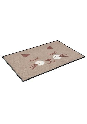 wash+dry by Kleen-Tex Fußmatte »Missy«, rechteckig, 7 mm Höhe, Schmutzfangmatte, In-... kaufen