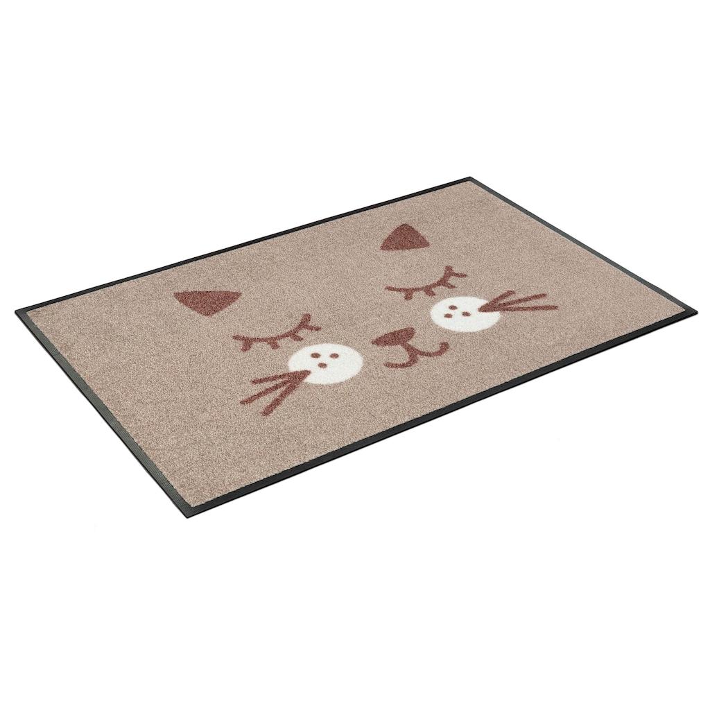 wash+dry by Kleen-Tex Fußmatte »Missy«, rechteckig, 7 mm Höhe, Schmutzfangmatte, In- und Outdoor geeignet, waschbar