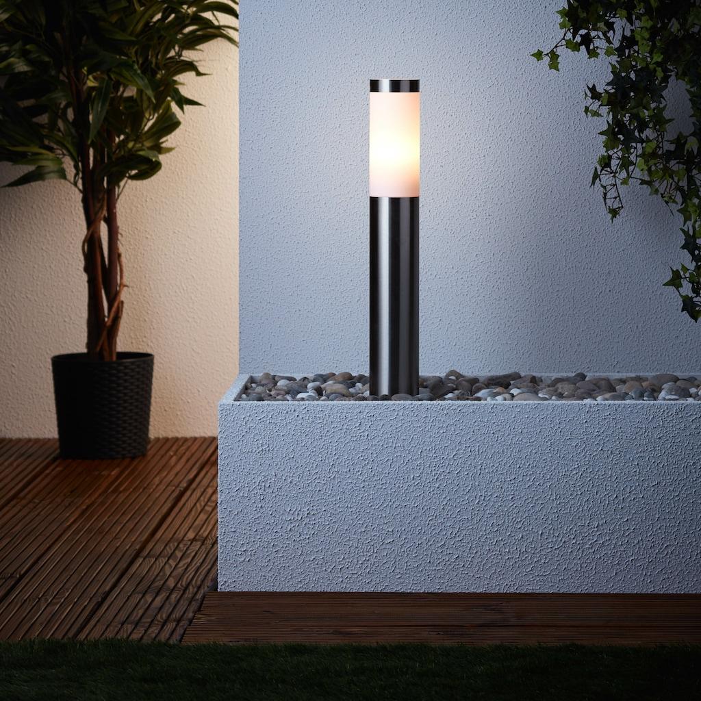Brilliant Leuchten Sockelleuchte, E27, Chorus Außensockelleuchte 51cm edelstahl