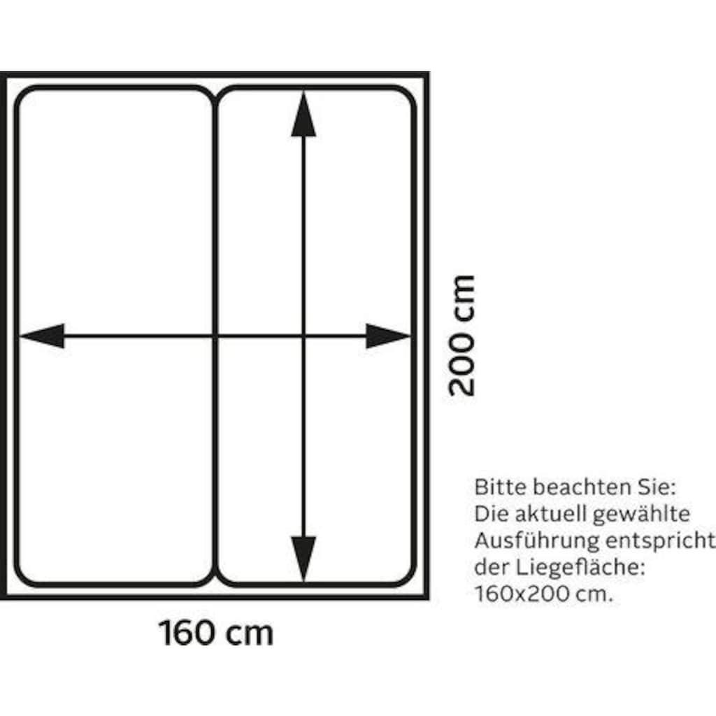 Maintal Polsterbett »Nando«, mit oder ohne Matratze in 2 Ausführungen, in 5 Breiten