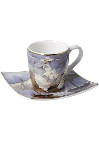 "Goebel Espressotasse »Joaquin Sorolla - ""Spaziergang am Strand""«, 100 ml kaufen"