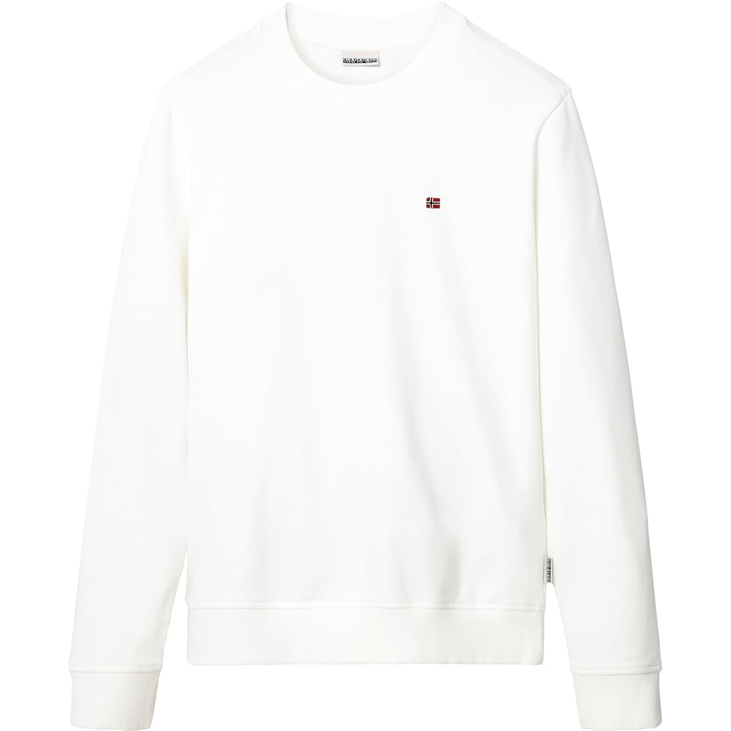 Napapijri Sweatshirt »BALIS«, unifarben