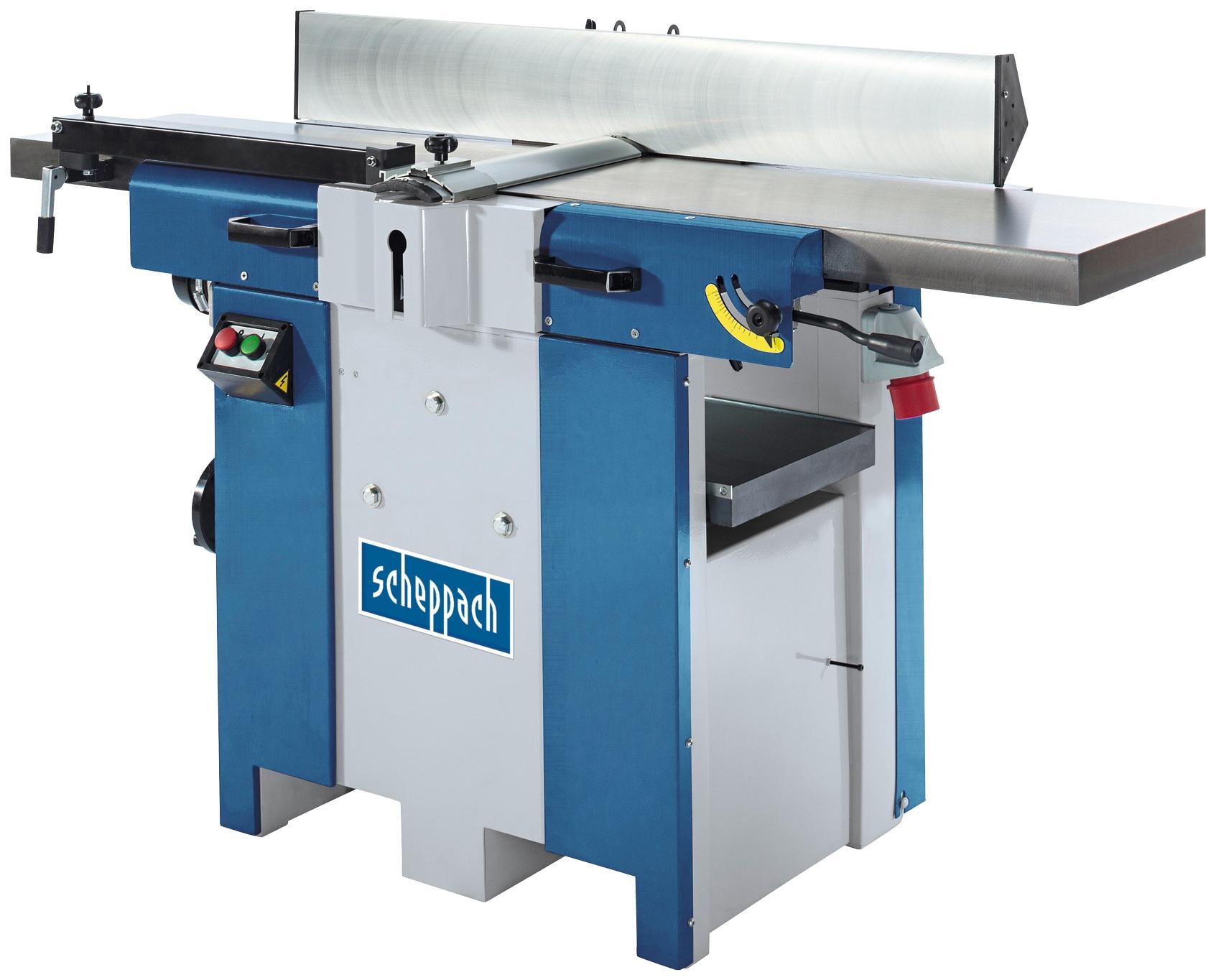 SCHEPPACH Hobel »Plana 4.1c«, 400V 50Hz 2500W - 310mm   Baumarkt > Werkzeug > Hobel und Tacker   Blau   SCHEPPACH
