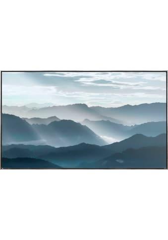 Reinders! Leinwandbild »Berglandschaft Im Morgengrauen - Leinwandbild« kaufen
