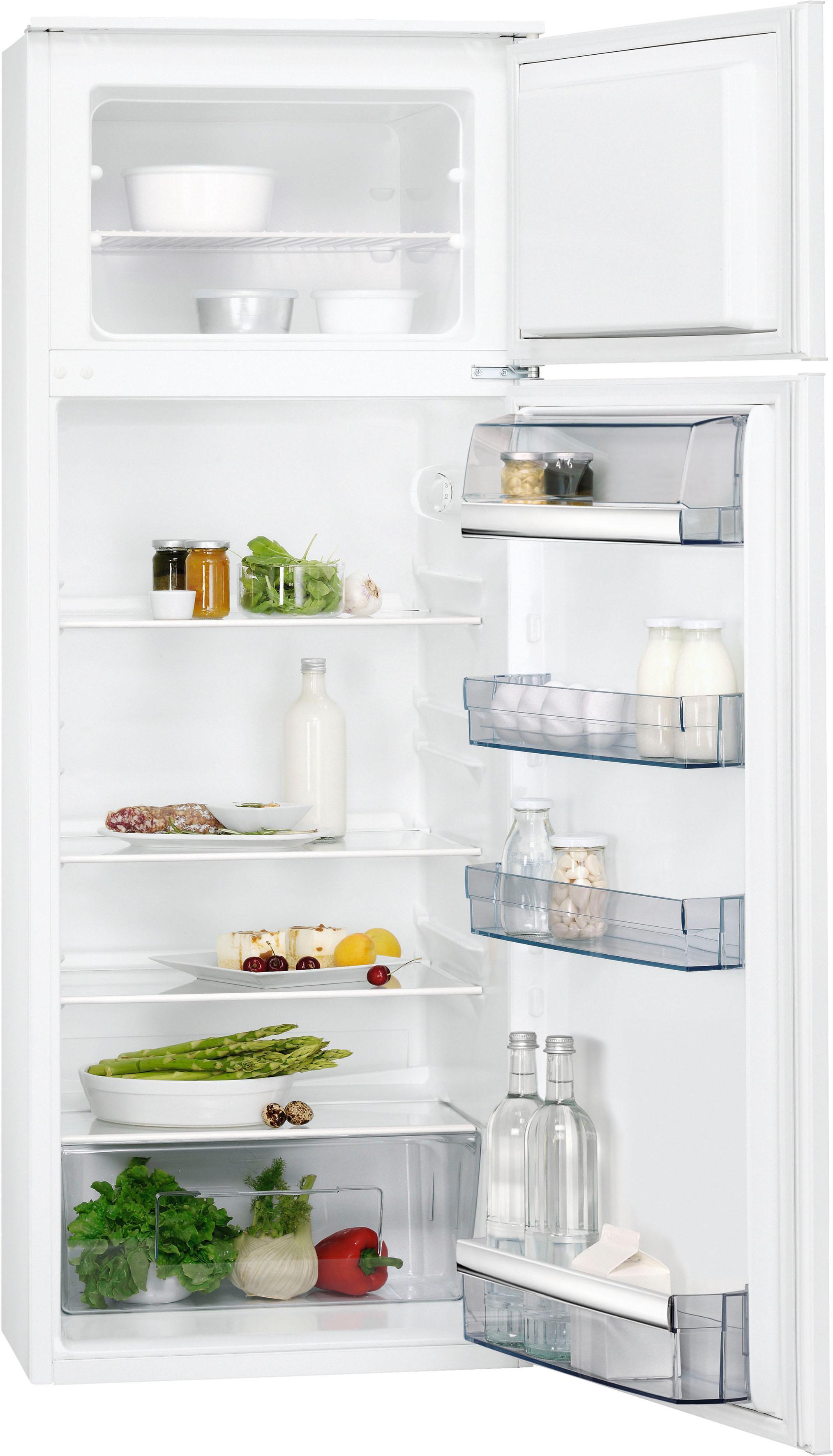 AEG Einbaukühlgefrierkombination, 144, 1 cm hoch, 54 cm breit | Küche und Esszimmer > Küchenelektrogeräte > Kühl-Gefrierkombis | Weiß | AEG ELECTROLUX