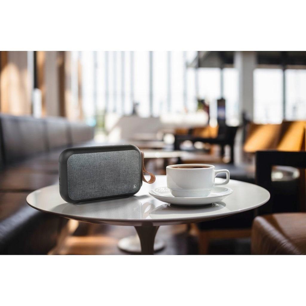 Hama Mobiler Lautsprecher, portable Bluetooth-Box, Micro-SD