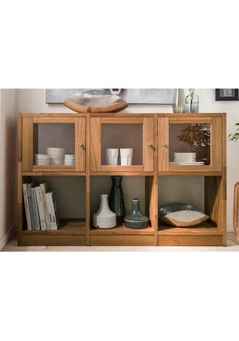 Premium collection by Home affaire Sideboard »Ecko«, aus massiver Wildeiche, Breite 136 cm kaufen