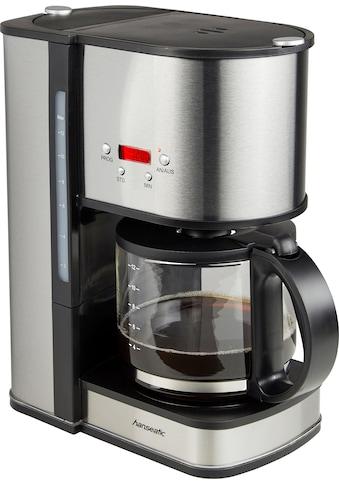 Hanseatic Filterkaffeemaschine »für 12 Tassen«, Papierfilter, 1x4, mit Glaskanne kaufen