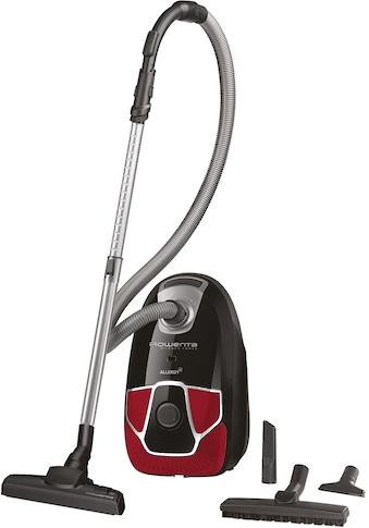 Rowenta Bodenstaubsauger RO6859 Silence Force Allergy+ Parkett, 450 Watt, mit Beutel kaufen