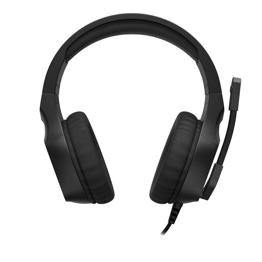 uRage Gaming Gamer Headset mit Mikrofon, langes Kabel, Klinke