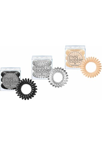 invisibobble Spiral-Haargummi »Original«, Black, Crystal & Nude kaufen