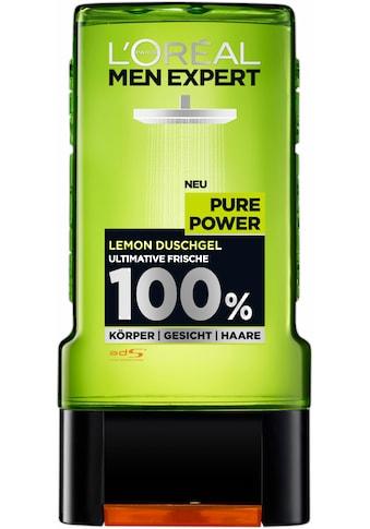 """L'ORÉAL PARIS MEN EXPERT Duschgel """"Pure Power Lemon"""" kaufen"""