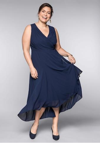 Sheego Abendkleid, in Wickeloptik kaufen