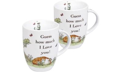 Könitz Becher »Guess how much...-I love you«, (Set) kaufen