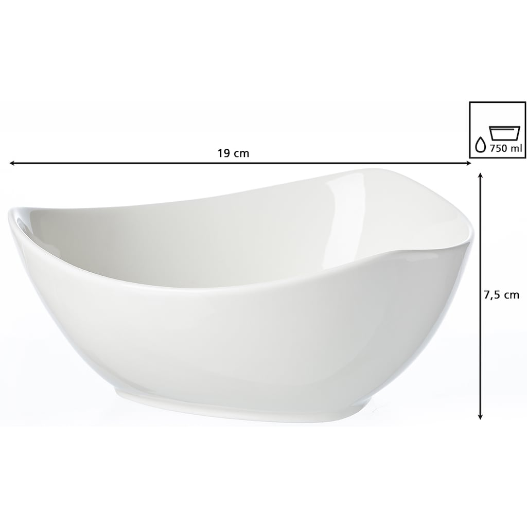 Ritzenhoff & Breker Tafelservice »Triangolo«, (Set, 12 tlg.), Dreieck-Form