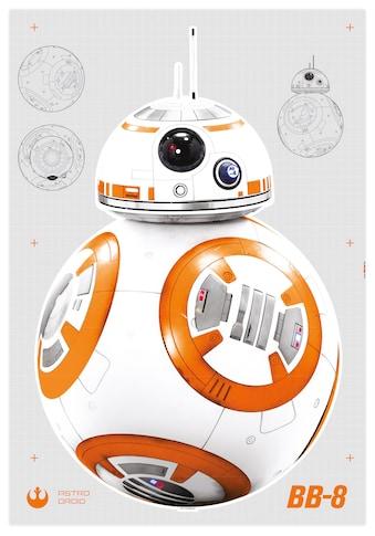 Komar Wandtattoo »Star Wars BB-8«, selbstklebend, rückstandslos abziehbar kaufen