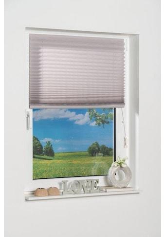 K-HOME Plissee »COMO«, Lichtschutz, freihängend kaufen
