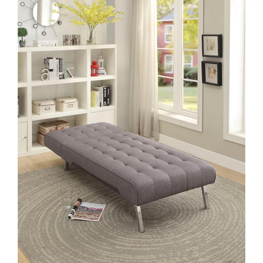 ATLANTIC home collection Relaxliege, mit Relax- und Schlaffunktion