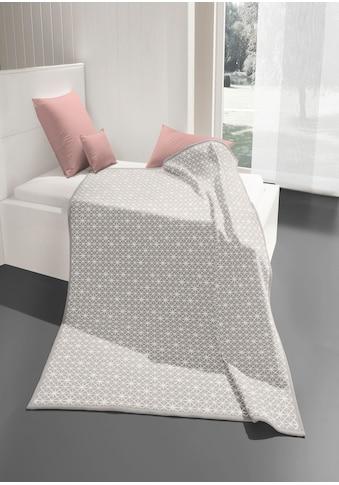 BIEDERLACK Wohndecke »White Star«, mit modernem Sterne-Design kaufen