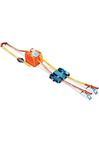 Hot Wheels Autorennbahn »Track Builder Unlimited Power Boost Box«, inkl. 2 Spielzeugautos kaufen