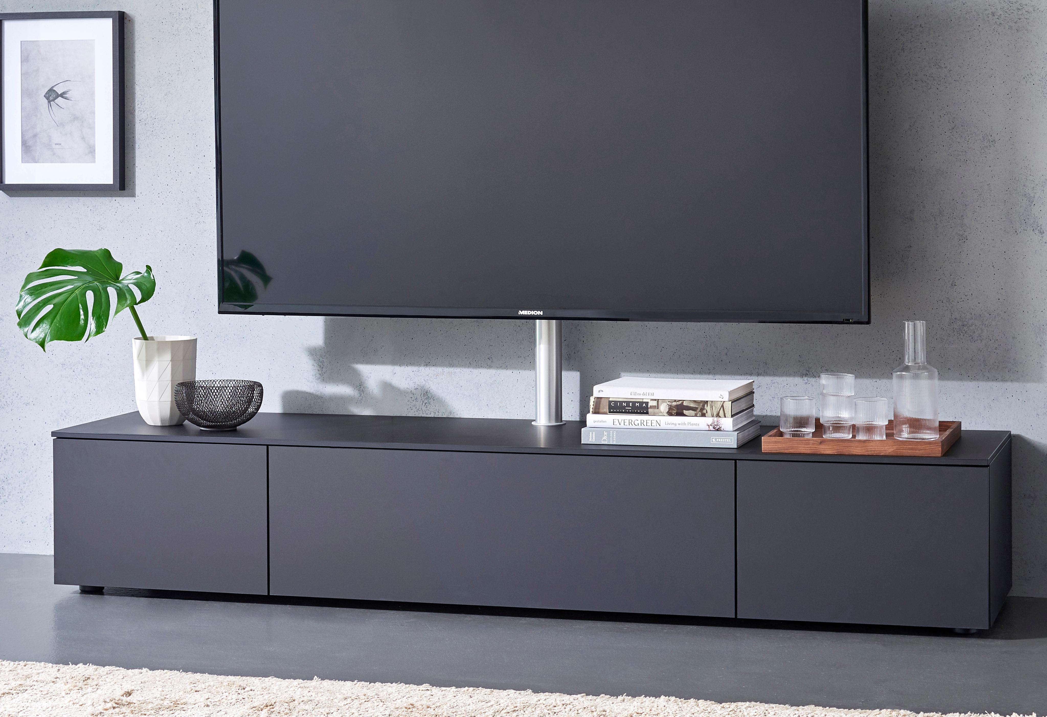 spectral lowboard select wahlweise mit tv halterung. Black Bedroom Furniture Sets. Home Design Ideas