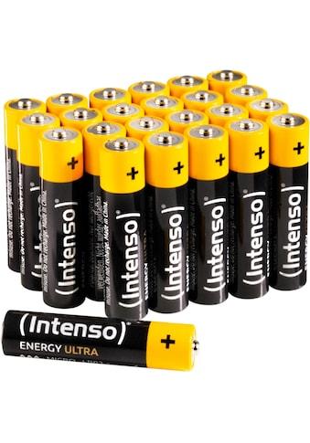 Intenso »Energy Ultra AAA LR03« Batterie (24 Stück) kaufen
