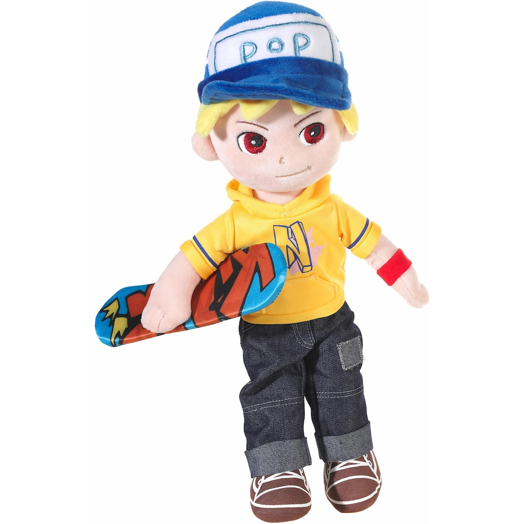 Heunec® Stoffpuppe »Magic Doll, Skater Boy 40 cm«