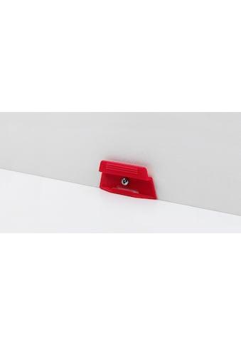 PARADOR Packung: Leisten - Befestigungsclips »Leistenclipse rot«, 24 Stück, für SL 4/5/18 kaufen