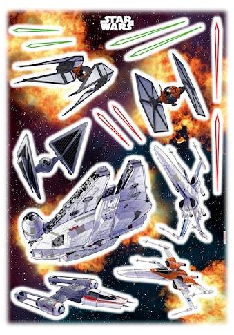 KOMAR Wandtattoo »Start Wars Spaceship«, selbsthaftend, rückstandslos abziehbar kaufen