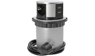 Kopp Steckdosenleiste »TSD.Turm,3f.+USB,+Zul«, 4-fach, (Ein- /... kaufen