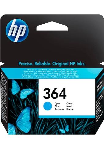 HP Tintenpatrone »hp 364 Original Cyan«, (1 St.) kaufen