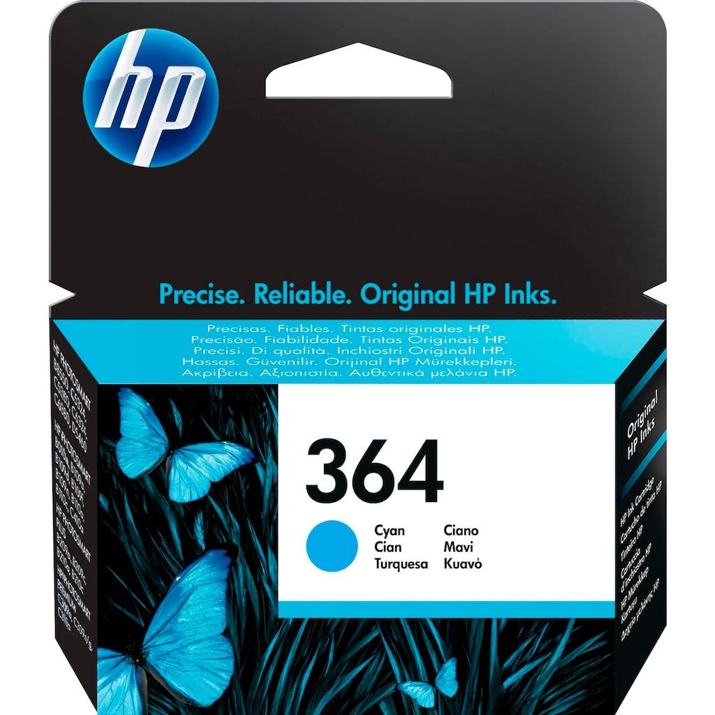 HP »hp 364 Original Cyan« Tintenpatrone (1-tlg.)