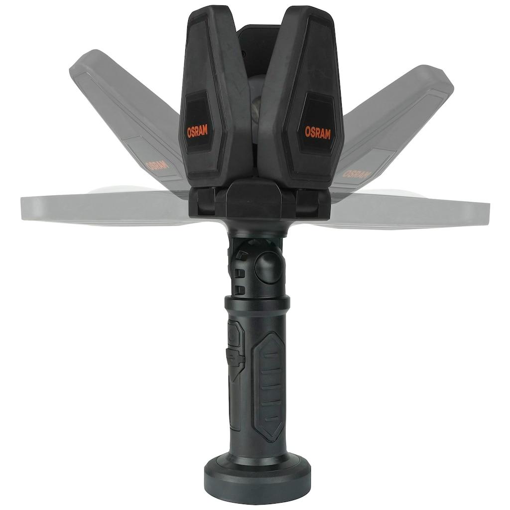 Osram LED Baustrahler, LED-Modul, 1 St., Kaltweiß, 1000 Lumen, mit Stativ, 10 W, mit Akku