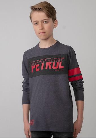 Petrol Industries Langarmshirt »RED STRIPES« kaufen