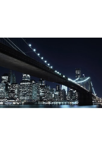 Home affaire Fototapete »New York by night«, 272/198 cm kaufen