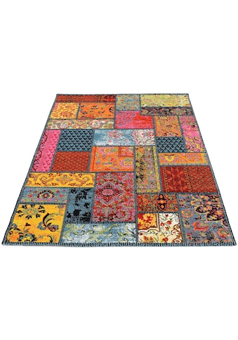 Teppich, »HAPPINESS ORI«, OCI DIE TEPPICHMARKE, rechteckig, Höhe 20 mm, maschinell gewebt kaufen