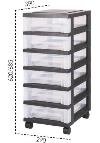 IRIS OHYAMA Rollwagen »SDC360«, mit 6 flachen Schubladen kaufen