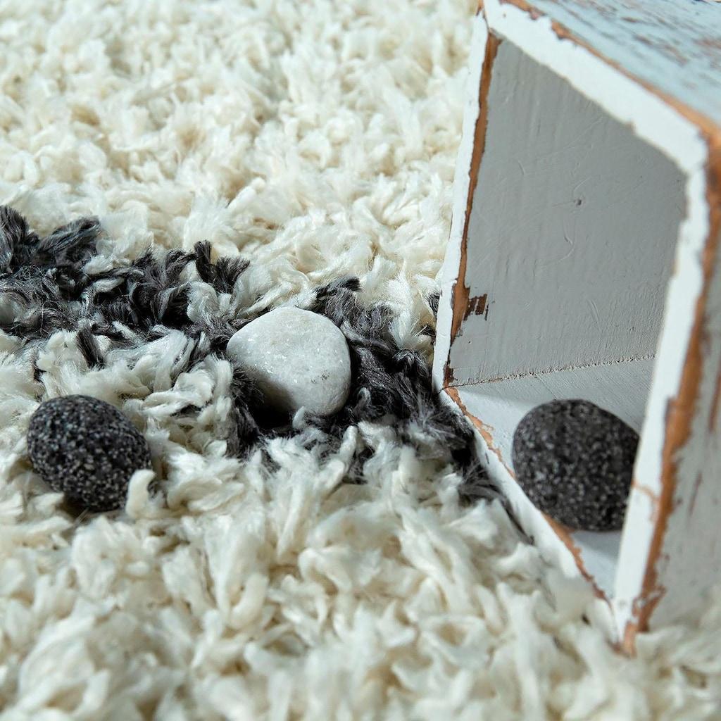 Hochflor-Teppich, »Helsinki 531«, Paco Home, rechteckig, Höhe 45 mm, maschinell gewebt