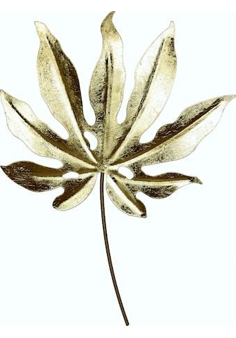 I.GE.A. Wanddekoobjekt »Metall - Blatt« kaufen