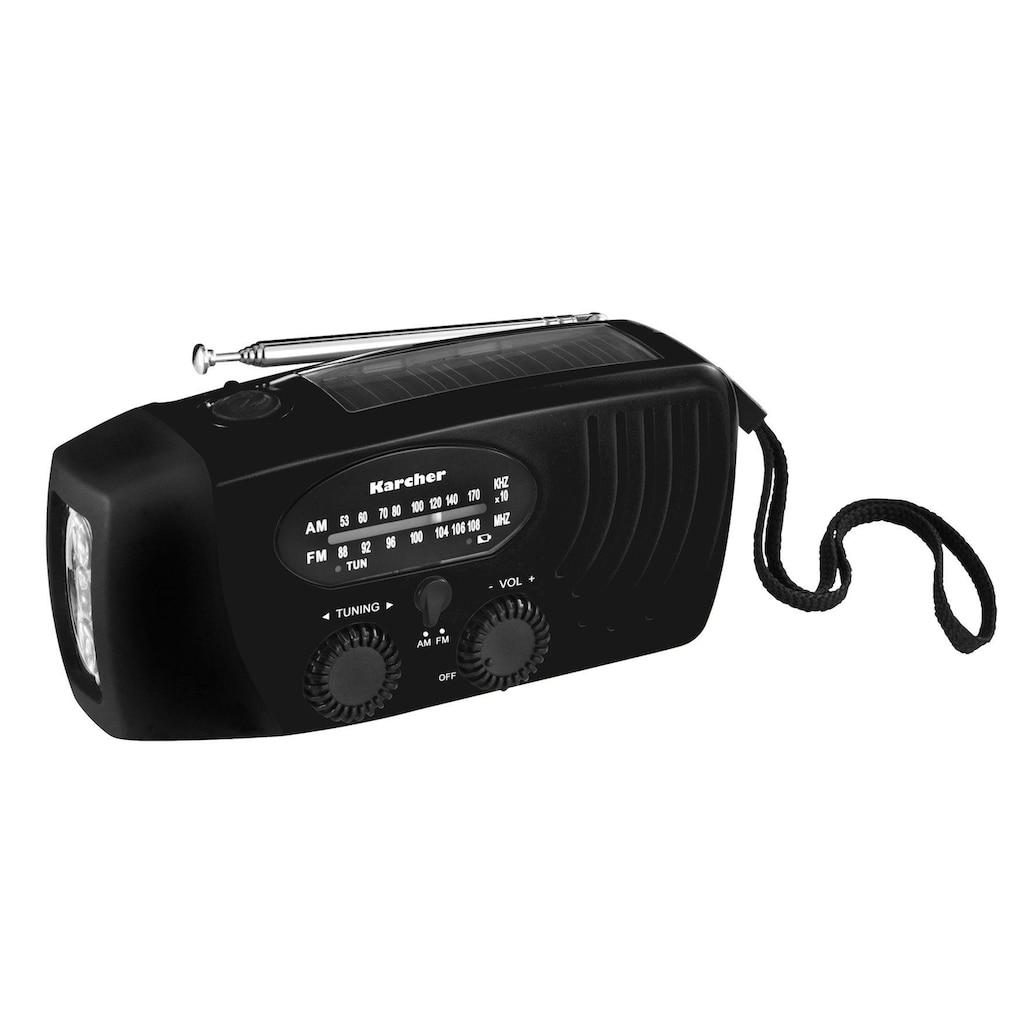 Karcher Radio »KR 110«, (AM-Tuner-FM-Tuner)