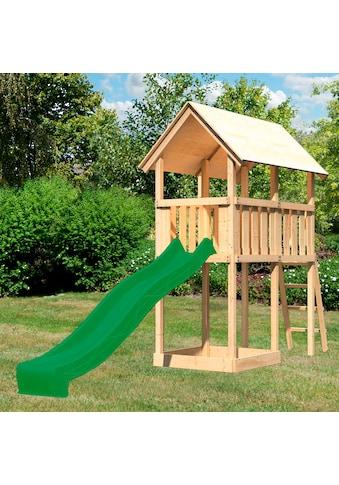 ABUKI Spielturm »Winnie«, BxTxH: 107x202x291 cm, mit Rutsche, Sandkasten, Leiter kaufen