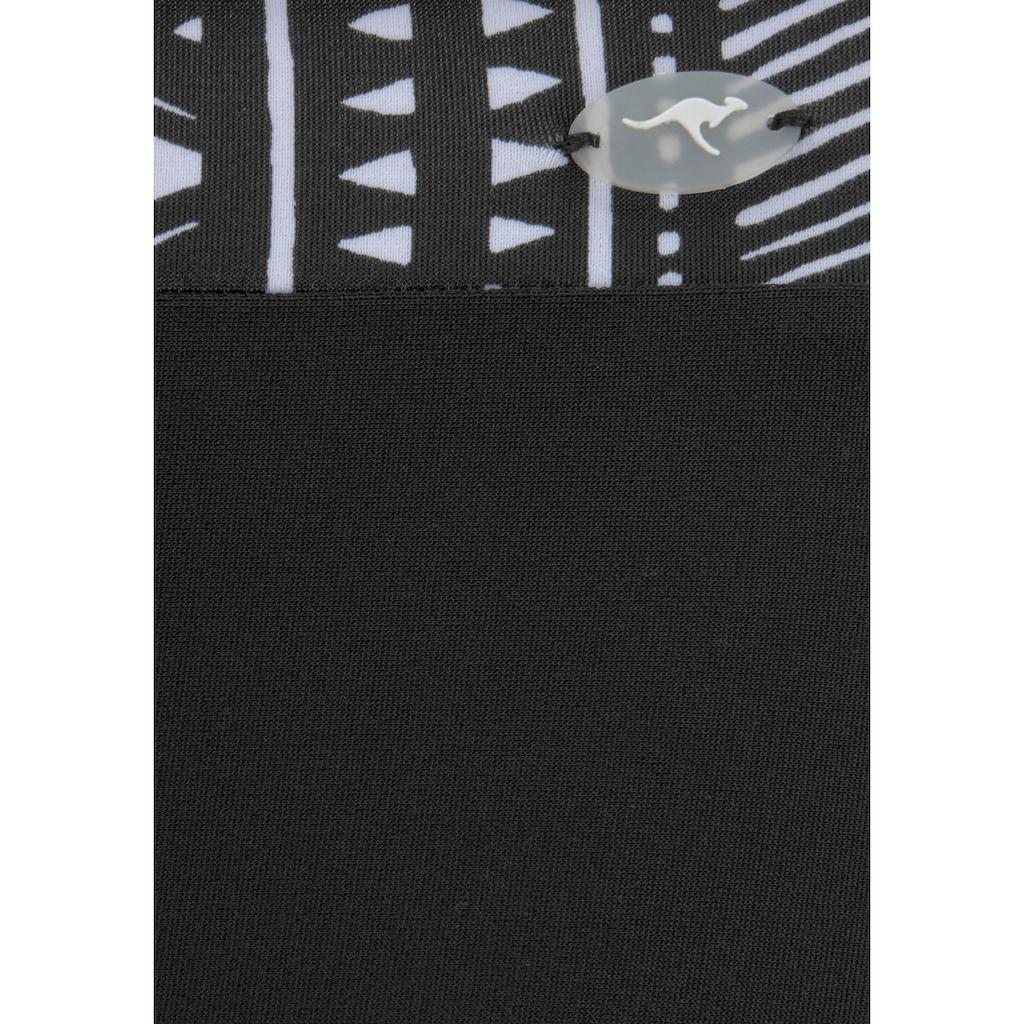 KangaROOS Bügel-Bikini, mit Hotpants