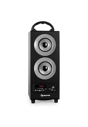 Auna Bluetooth Lautsprecher Radio USB SD AUX UKW/MW MP3 Akkubetrieb kaufen